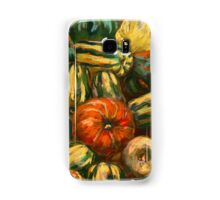 Still life with colorful pumpkins Samsung Galaxy Case/Skin