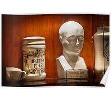 Phrenology Bust Poster