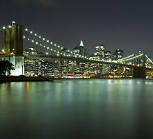 Brooklyn Bridge at Night 6 by BlackRussian