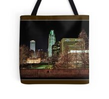 Downtown Omaha, Nebraska Tote Bag