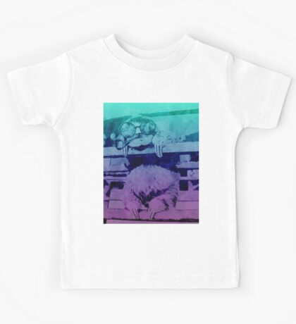 The One With The Sloth- Watercolour Kids Tee