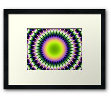 Do You Think Maybe Just a LITTLE Bright? Framed Print