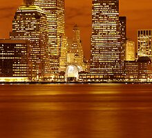 Golden World Financial Center by BlackRussian