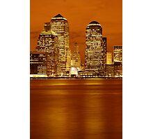 Golden World Financial Center Photographic Print