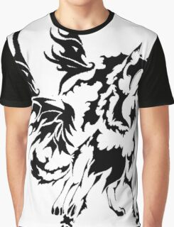 Wing Wolf Graphic T-Shirt