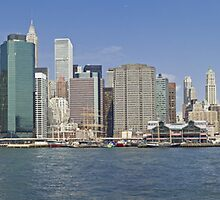 Downtown Manhattan Panorama 5 by BlackRussian