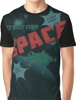 Greetings from Space Graphic T-Shirt