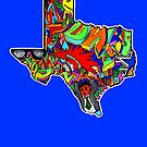 TEXAS STATE, Colorful Texas State cities, Fun Texas State icons, Texas State facts and everything about TEXAS State and Texas art by thespiltink