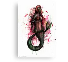 Zombie Princesses - Ariel Canvas Print