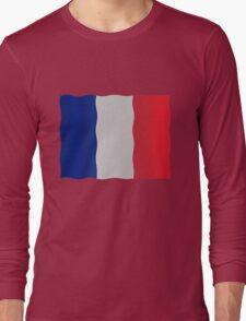 French flag Long Sleeve T-Shirt