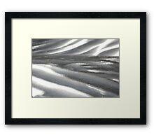 Metal Patterns Framed Print
