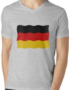 German flag Mens V-Neck T-Shirt