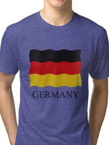 German flag Tri-blend T-Shirt
