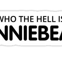 Who the hell is Bonnie Bear? Sticker