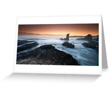 """Cathedral Rocks"" ∞ Kiama, NSW - Australia Greeting Card"