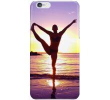 Purple Sunset Yoga iPhone Case/Skin