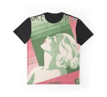 DANCE HALL DOLL (vintage illustration) Graphic T-Shirt