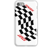 Racing flag - case iPhone Case/Skin