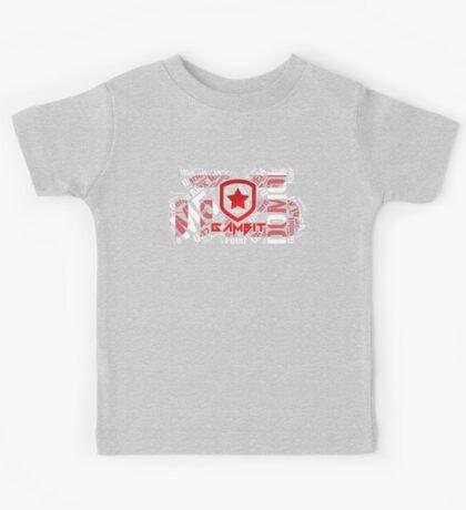 """The Legacy"" Gambit Gaming (M5) cloud logo (T-SHIRTS AND HOODIES) Kids Tee"