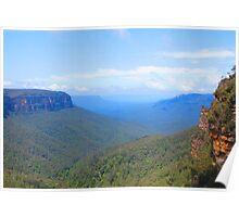 The Blue Mountains Poster