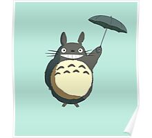 Flying totoro Poster