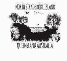 MOOLOOMBAH, MINJERRIBAH - (AKA POINT LOOKOUT NORTH STRADBROKE ISLAND) AUSTRALIA One Piece - Long Sleeve