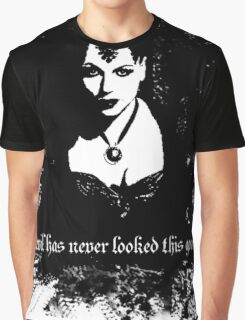 Evil has never looked this good. Graphic T-Shirt