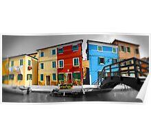 Burano, Venice Italy - 1 Poster