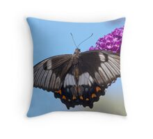Orchard Butterfly Throw Pillow