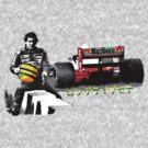 'Long Live Senna' by mk1tiger