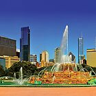 Chicago - Buckingham Fountain by Steve Ivanov