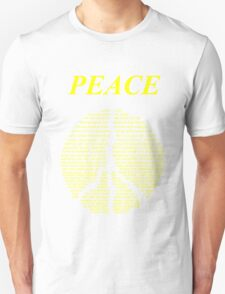 Peace - Happy People Logo T-Shirt