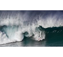 Julian Wilson At Billabong Pipe Masters In Memory of Andy Irons 2011 Photographic Print