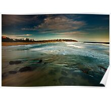 South Curl Curl Beach NSW Poster