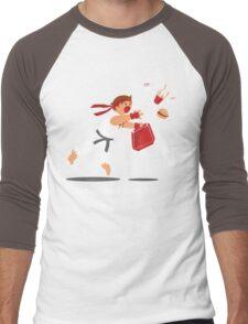 Dropped Combo Men's Baseball ¾ T-Shirt
