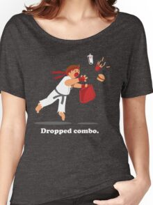 Dropped Combo Women's Relaxed Fit T-Shirt