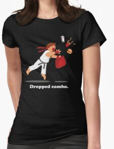 Dropped Combo Womens Fitted T-Shirt