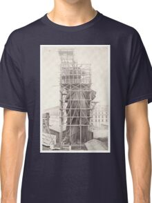 Construction of The Statue of Liberty Classic T-Shirt