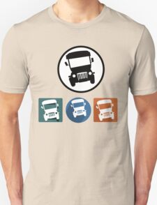 Jeepney icons T-Shirt