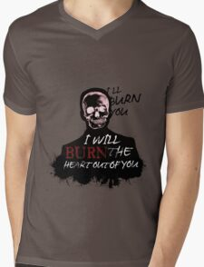 I'll Burn You Mens V-Neck T-Shirt