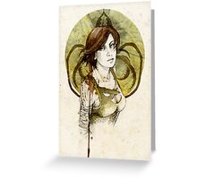 Asha Greyjoy Greeting Card