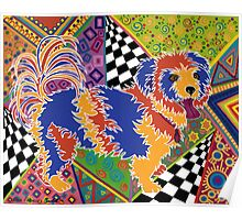 POP ART DOG - Doggie portrait with a difference! Poster