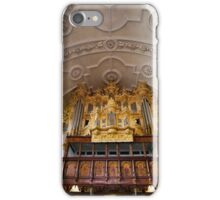 Pipe organ in Celle, Germany iPhone Case/Skin