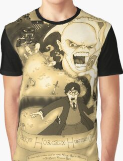 Harry's Horcrux Hunting Club Graphic T-Shirt
