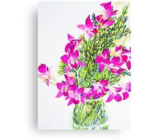 Singapore Orchids Canvas Print