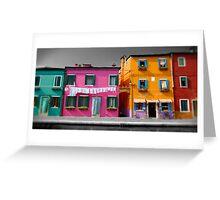 Burano, Venice Italy - 6 Greeting Card