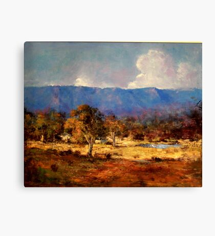 My Country Canvas Print