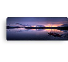 At Rest - Narrabeen Lakes, Sydney,Australia - The HDR Experience Canvas Print