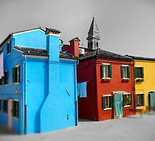 Burano, Venice Italy - 7 by Paul Williams