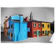 Burano, Venice Italy - 7 Poster